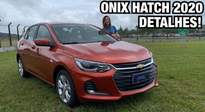 Novo Onix Hatch 2020 Finalmente E Lancado Falando De Carro Tudo Sobre O Mundo Automotivo